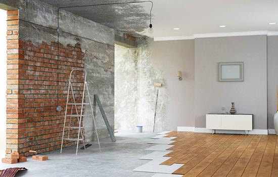 Oppussing og renovering av boligen